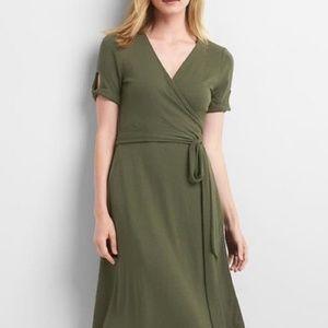 GAP Softspun Wrap Dress